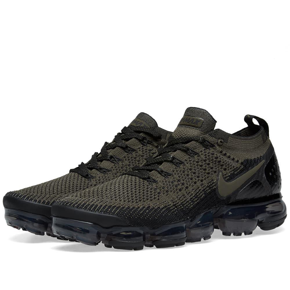 best sneakers 9a084 67b65 Men's Green Air Vapormax Flyknit 2