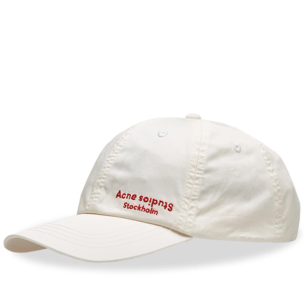 3434d701dbb Acne Studios Carliy Dye Cap in White for Men - Lyst