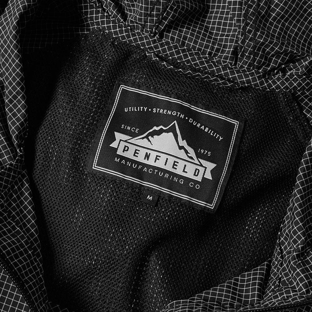 Penfield Synthetic Packable Ripstop Jacket in Black for Men