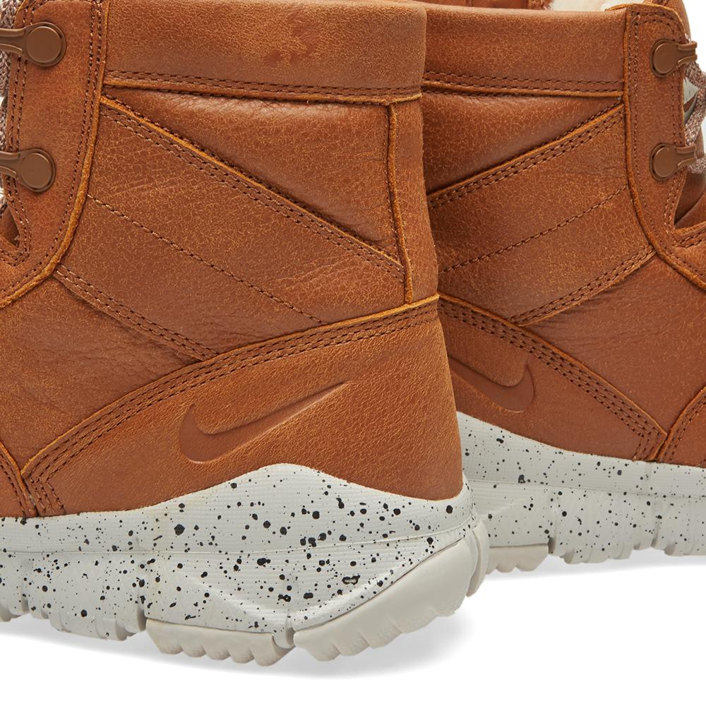 """Nike Leather Sfb 6"""" Bomber Nsw in Brown for Men"""