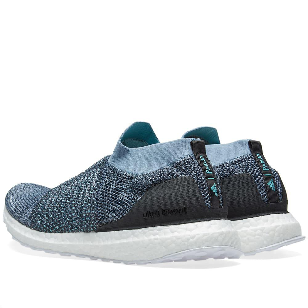 Adidas Ultra Boost Laceless Parley In Blue For Men Lyst