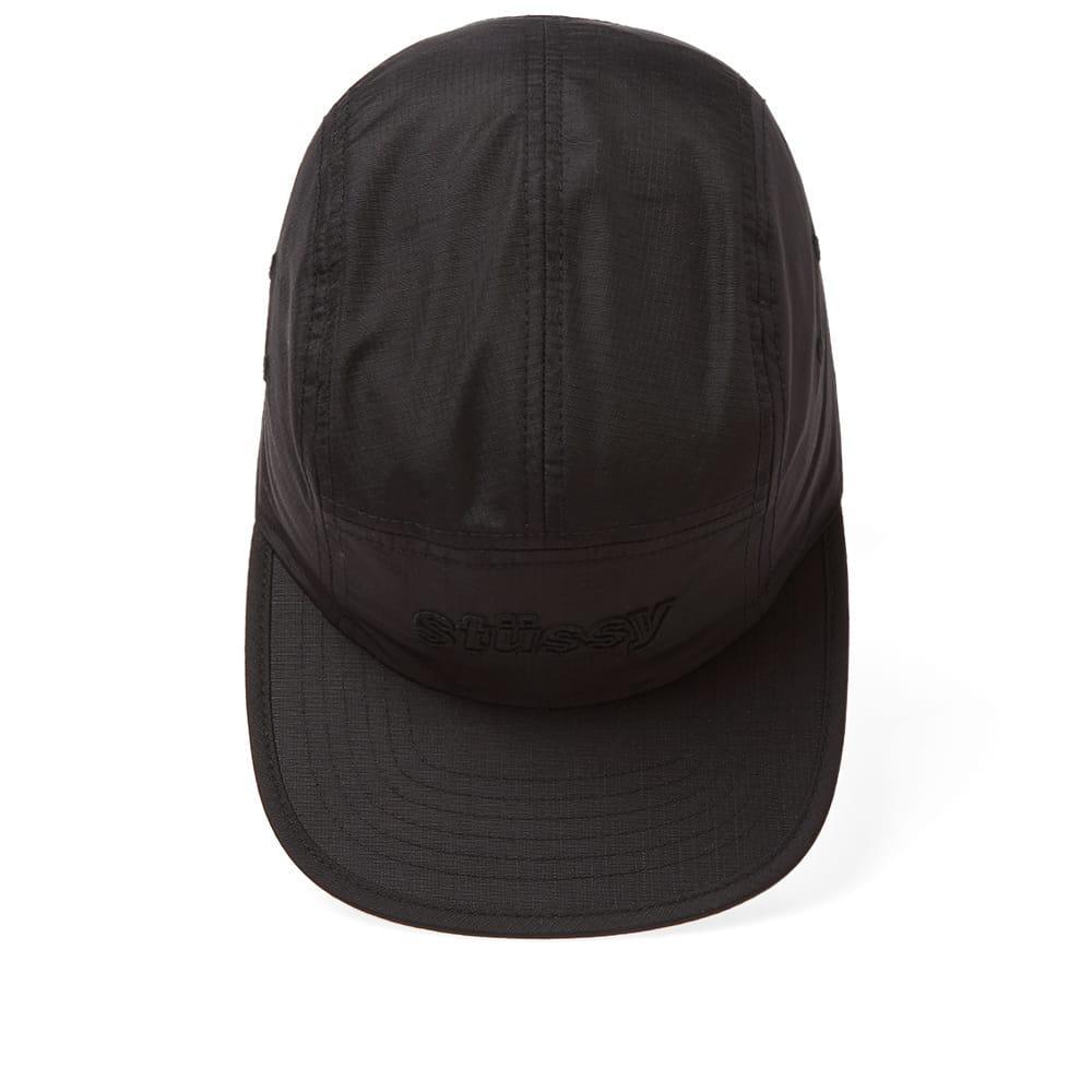 1912a0f7beb Lyst - Stussy Micro Ripstop Camp Cap in Black for Men