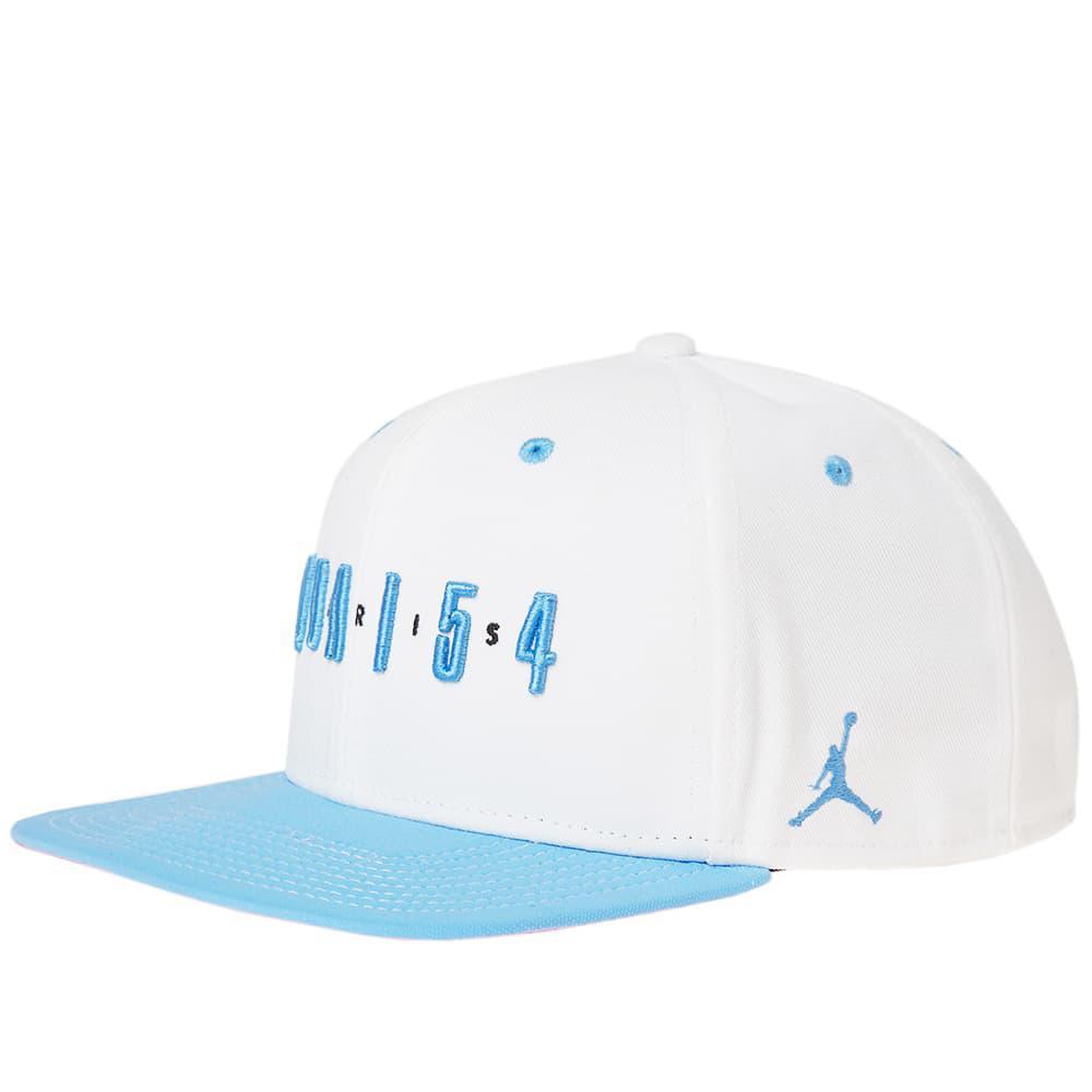 9c45ea21322 Lyst - Nike Air Jordan Snapback  quai 54  in White for Men