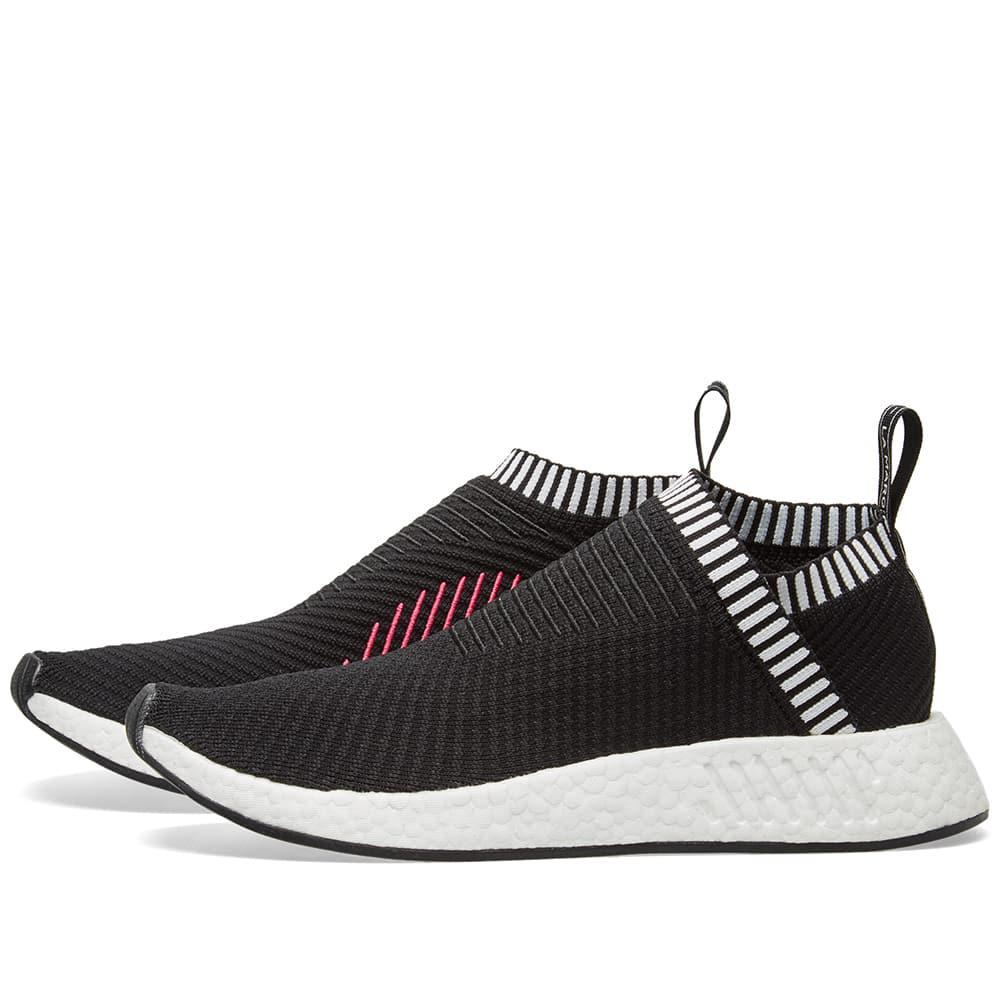lyst adidas nmd cs2 pk in black for men. Black Bedroom Furniture Sets. Home Design Ideas