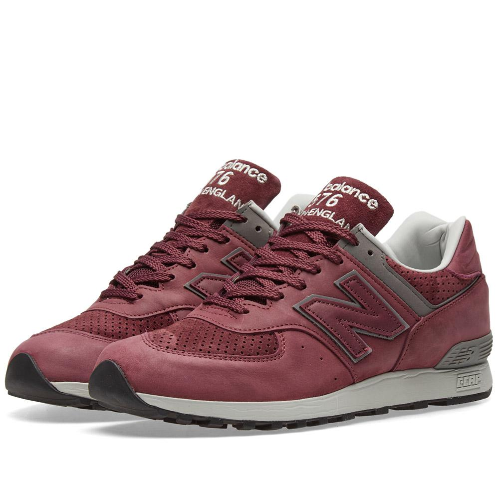 lyst new balance m576gmm made in england in red for men. Black Bedroom Furniture Sets. Home Design Ideas