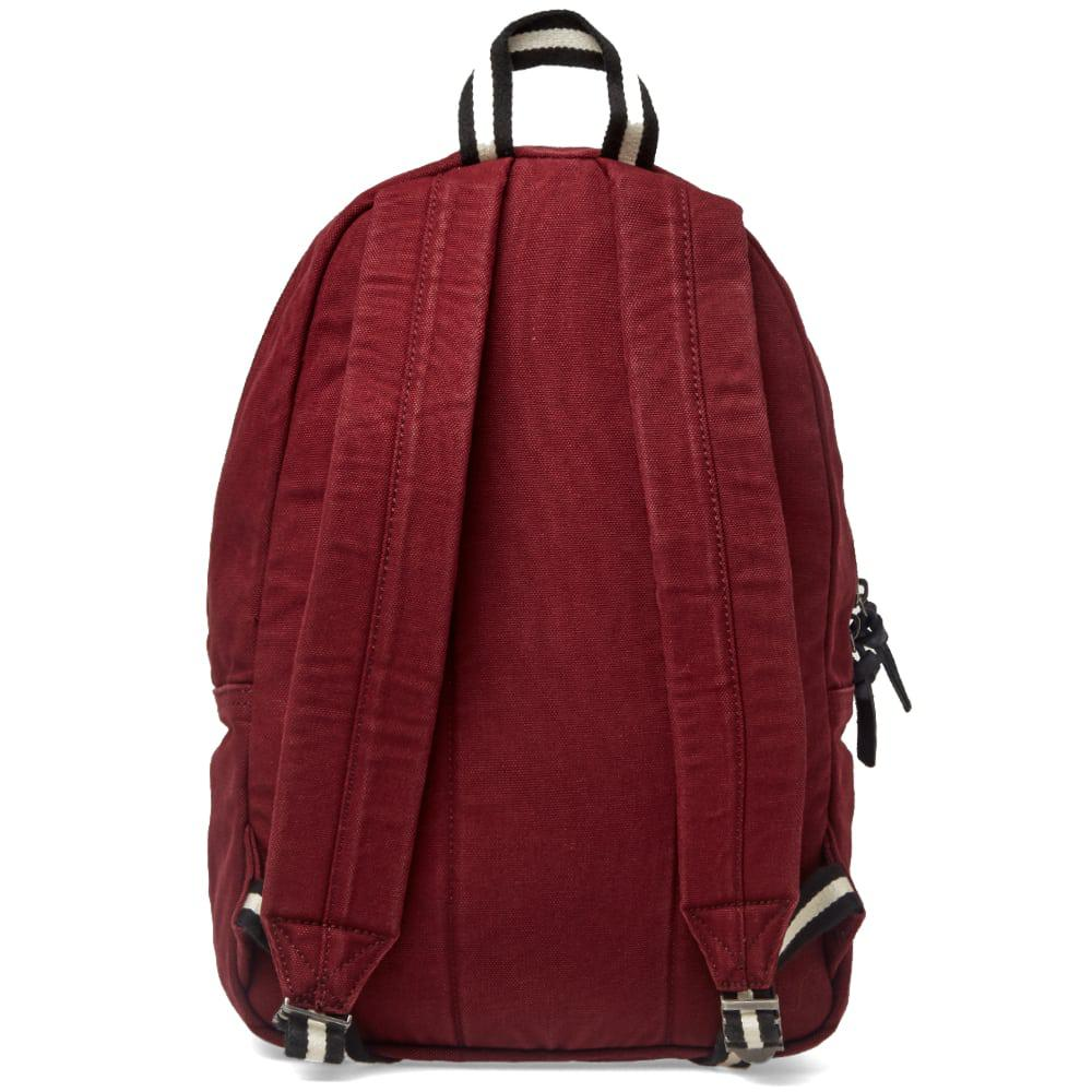 Polo Ralph Lauren - Red Canvas Polo Player Logo Backpack for Men - Lyst.  View fullscreen 8d1376bb14894