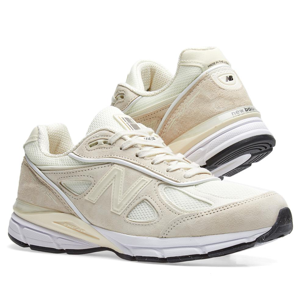 sports shoes 51aae 1e5f5 New Balance White X Stussy 990v4