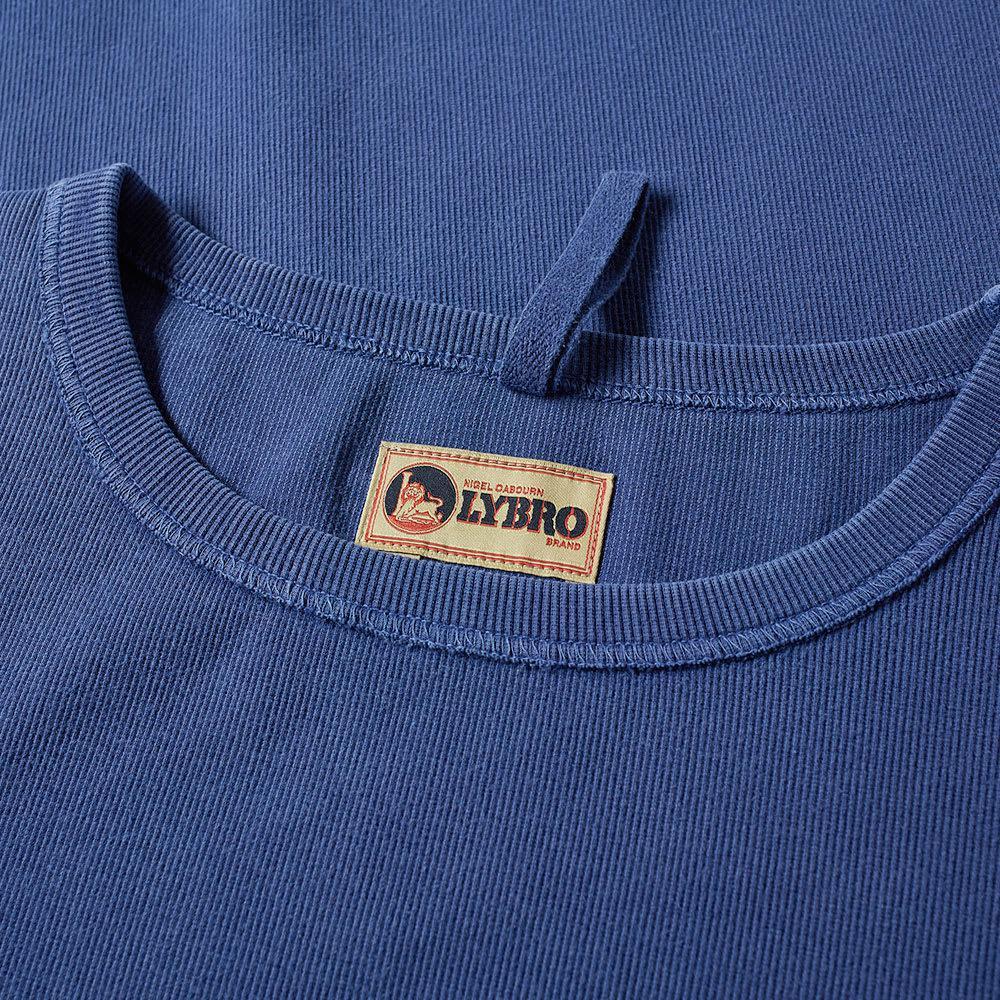 97048198efff Lyst - Nigel Cabourn X Lybro Rib Sweat in Blue for Men