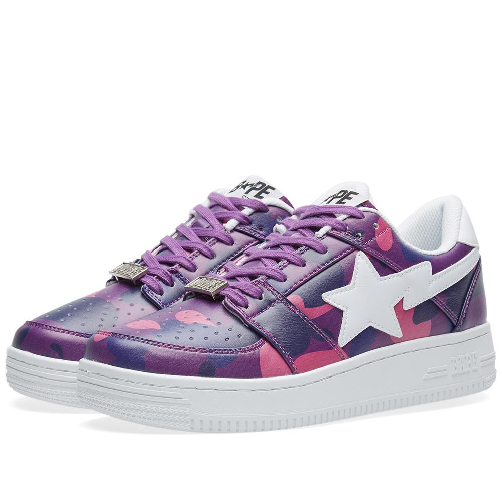 Lyst - A Bathing Ape Colour Camo Bape Sta in Purple a5d641c62