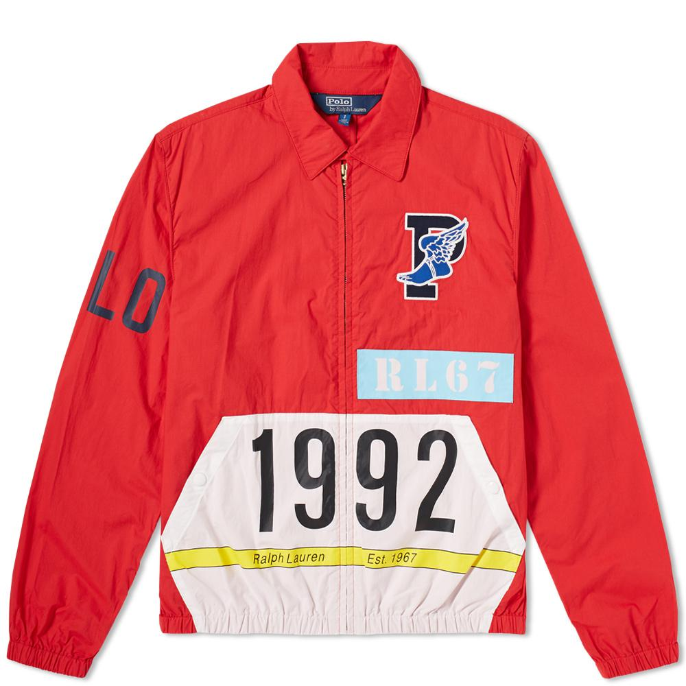444e1084208f4 Polo Ralph Lauren Stadium P-wing Jacket in Red for Men - Lyst