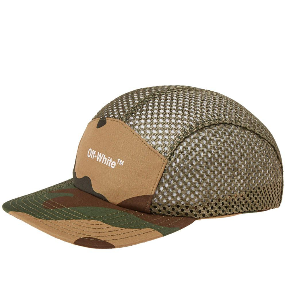 d9da7008890a Lyst - Off-White c o Virgil Abloh Mesh Camo Hat By in Green for Men ...