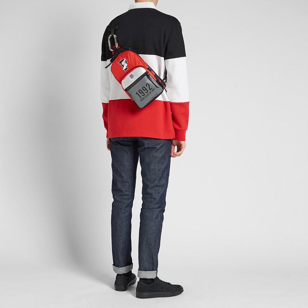 Lyst - Polo Ralph Lauren Stadium Cross-body Bag in Red for Men ... 36c4dc9262d1f
