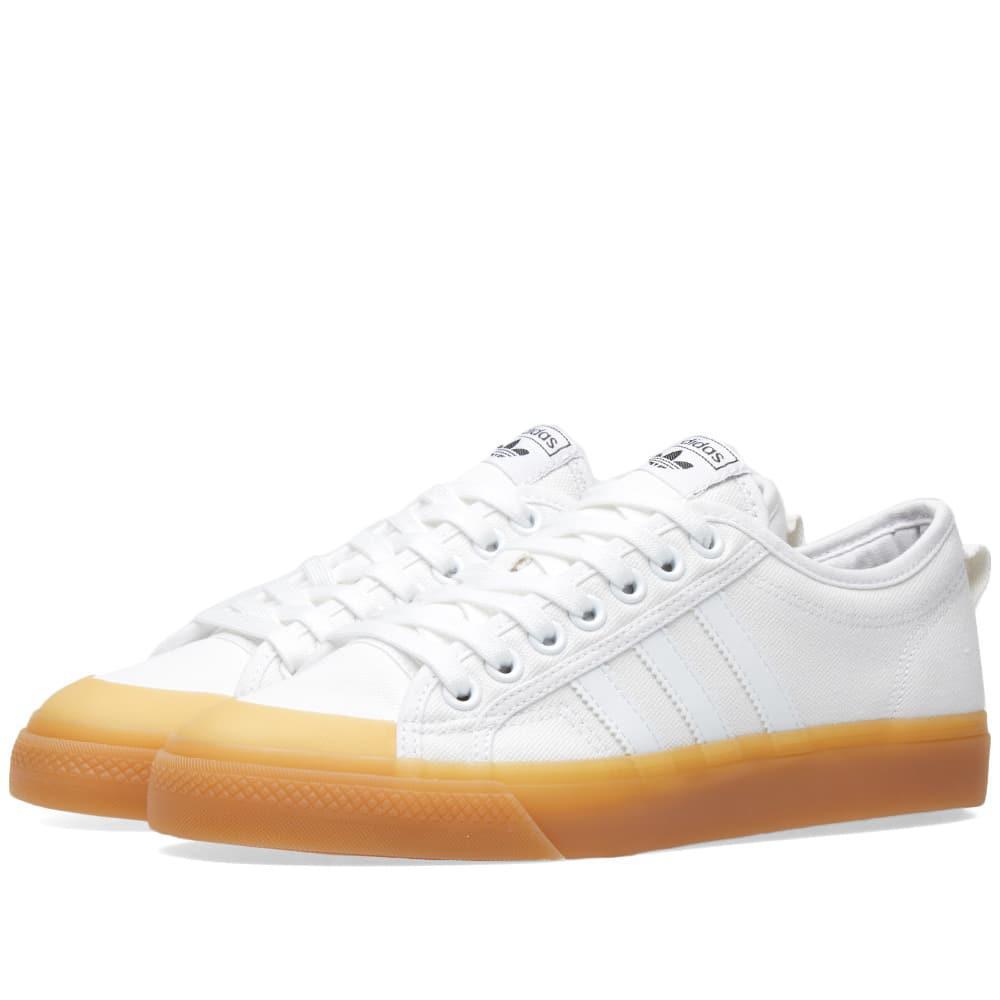 e0925486d60f29 Adidas Nizza W in White for Men - Lyst