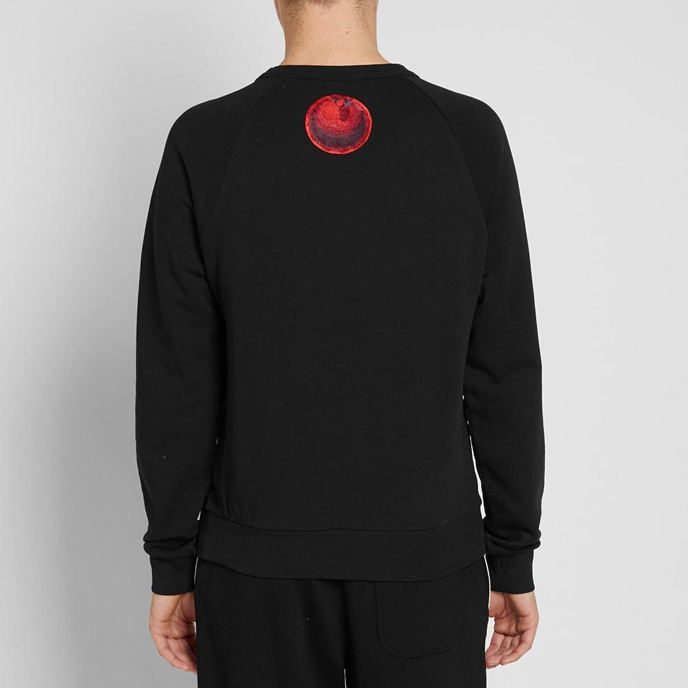 Dries Van Noten Cotton Flower Print Sweater in Black for Men