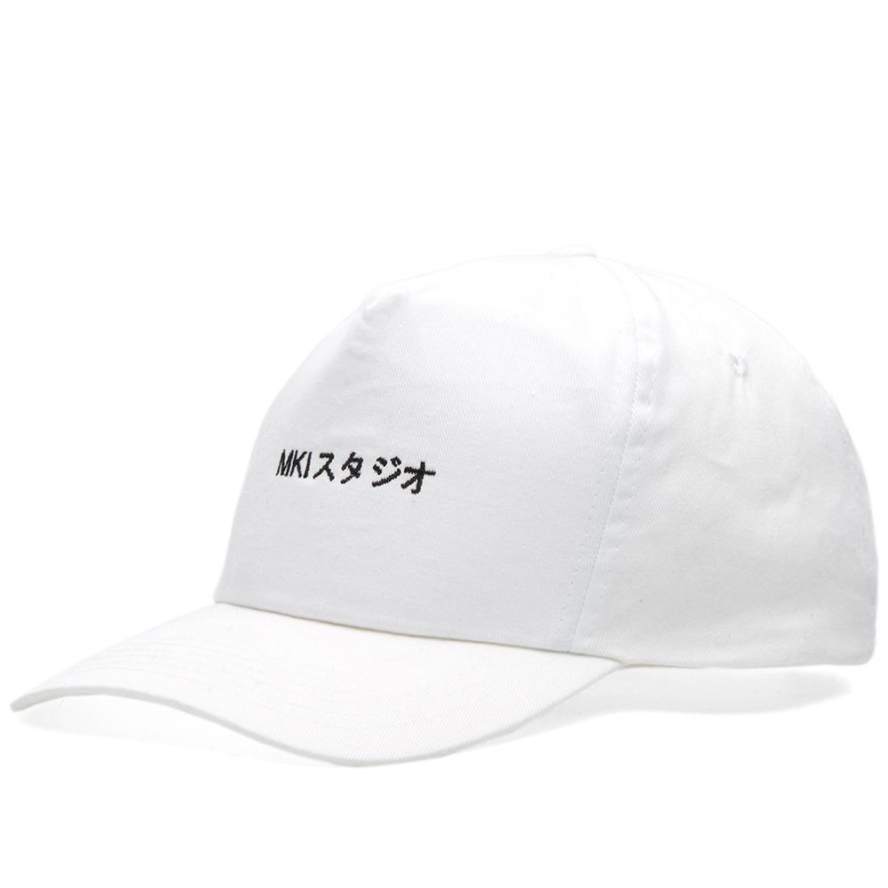 Mki Miyuki-Zoku Curved Peak Baseball Cap in White for Men - Lyst c98a70fdbb6a