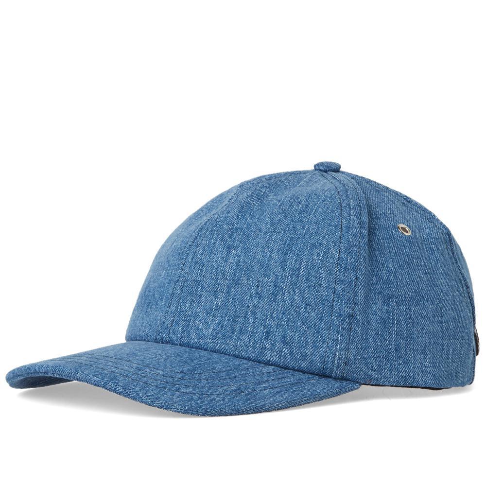 00953ebe5e710 Lyst - AMI Light Denim Cap in Blue for Men