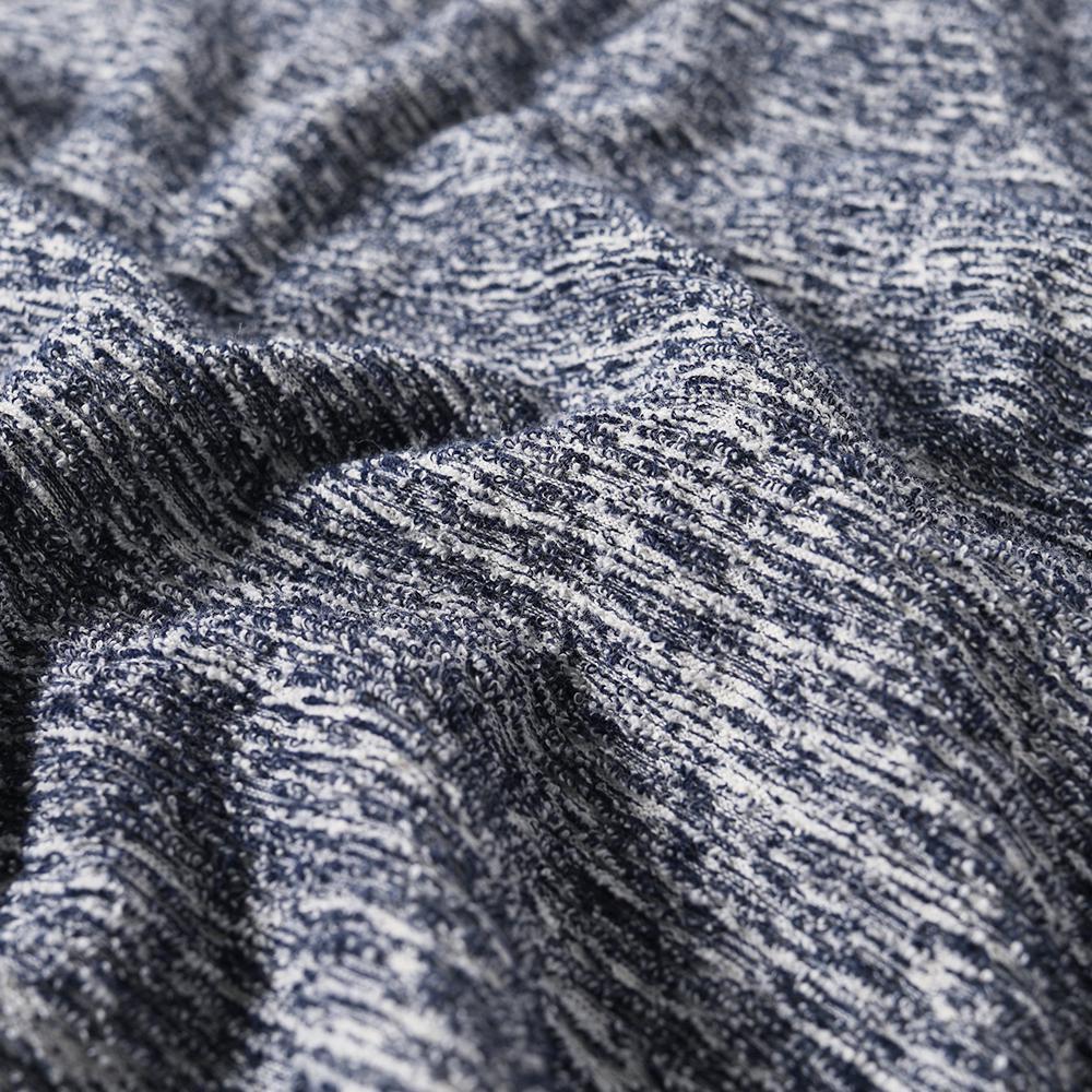 Wings + Horns Cotton Long Sleeve Loop Knit Tee in Blue for Men