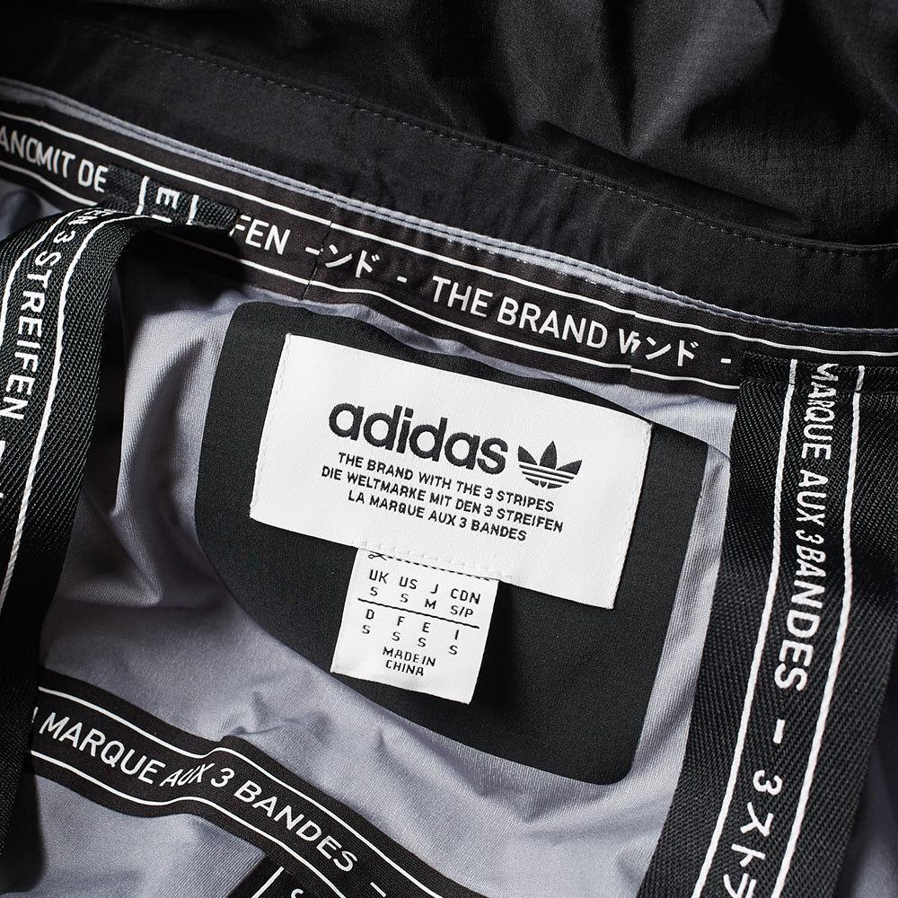 adidas Rubber Nmd Shell Jacket in Black for Men