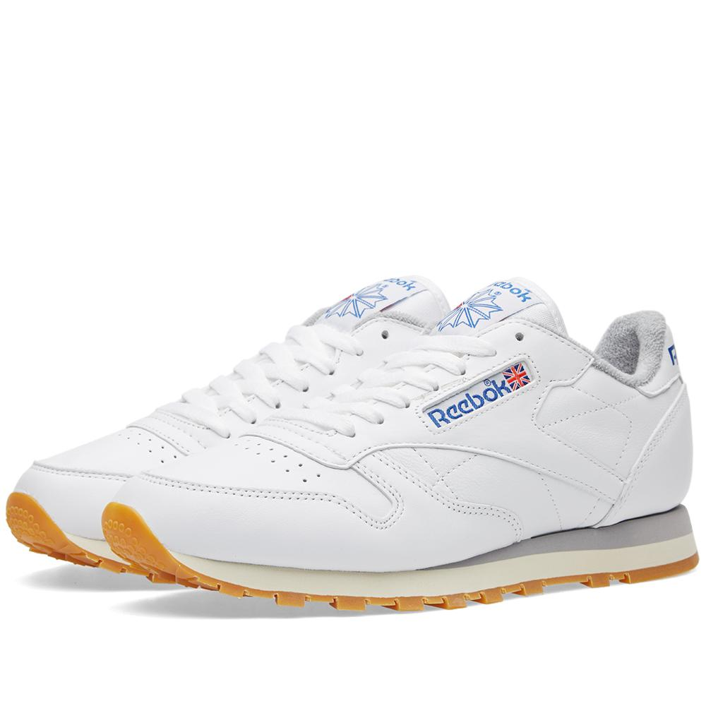 7c515e09d73 Reebok Classic Leather R12 in White for Men - Lyst