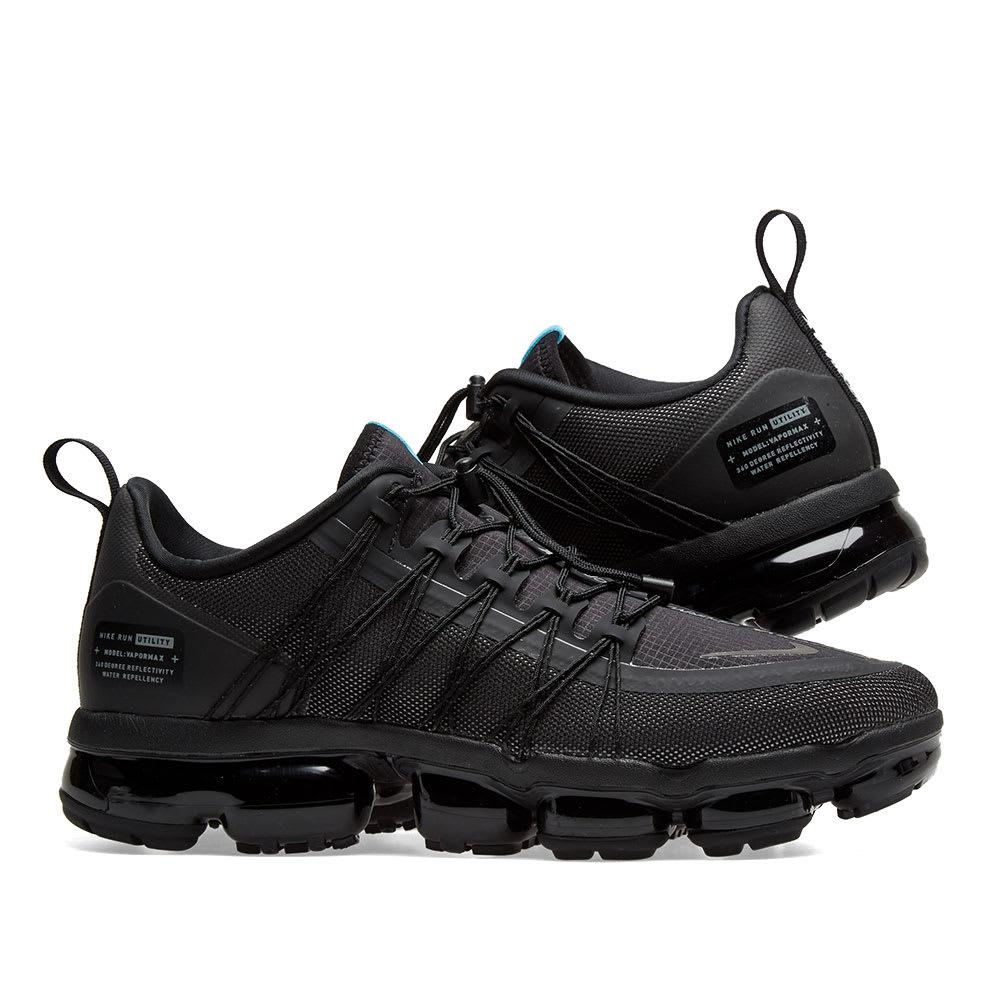 buy popular ca30e c950a Men's Black Air Vapormax Run Utility