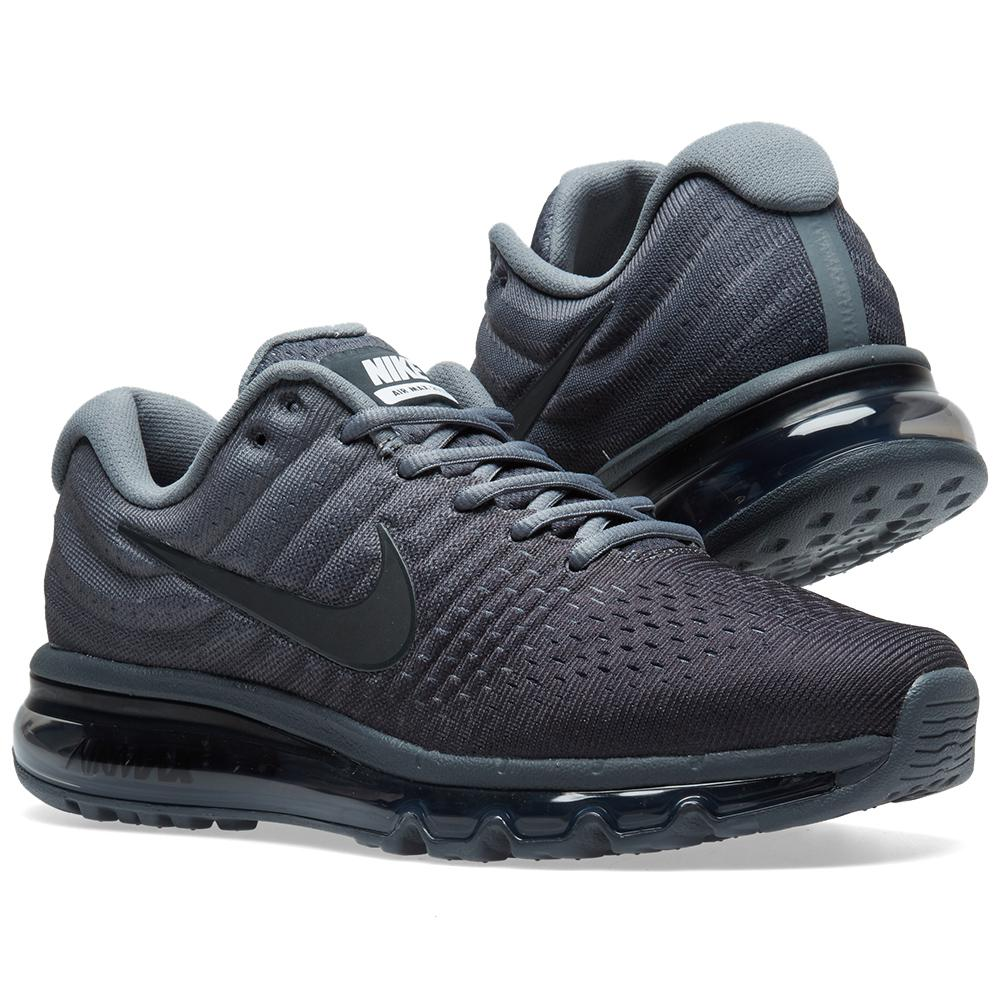 nike rubber air max 2017 in grey gray for men lyst