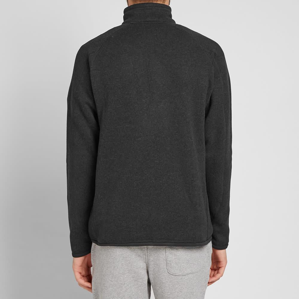 Patagonia Synthetic Better Sweater Quarter Zip Pullover in Black for Men