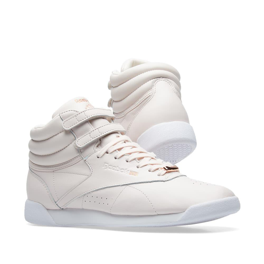 adidas by Stella McCartney Pink Freestyle High Muted Sneakers m3vWv