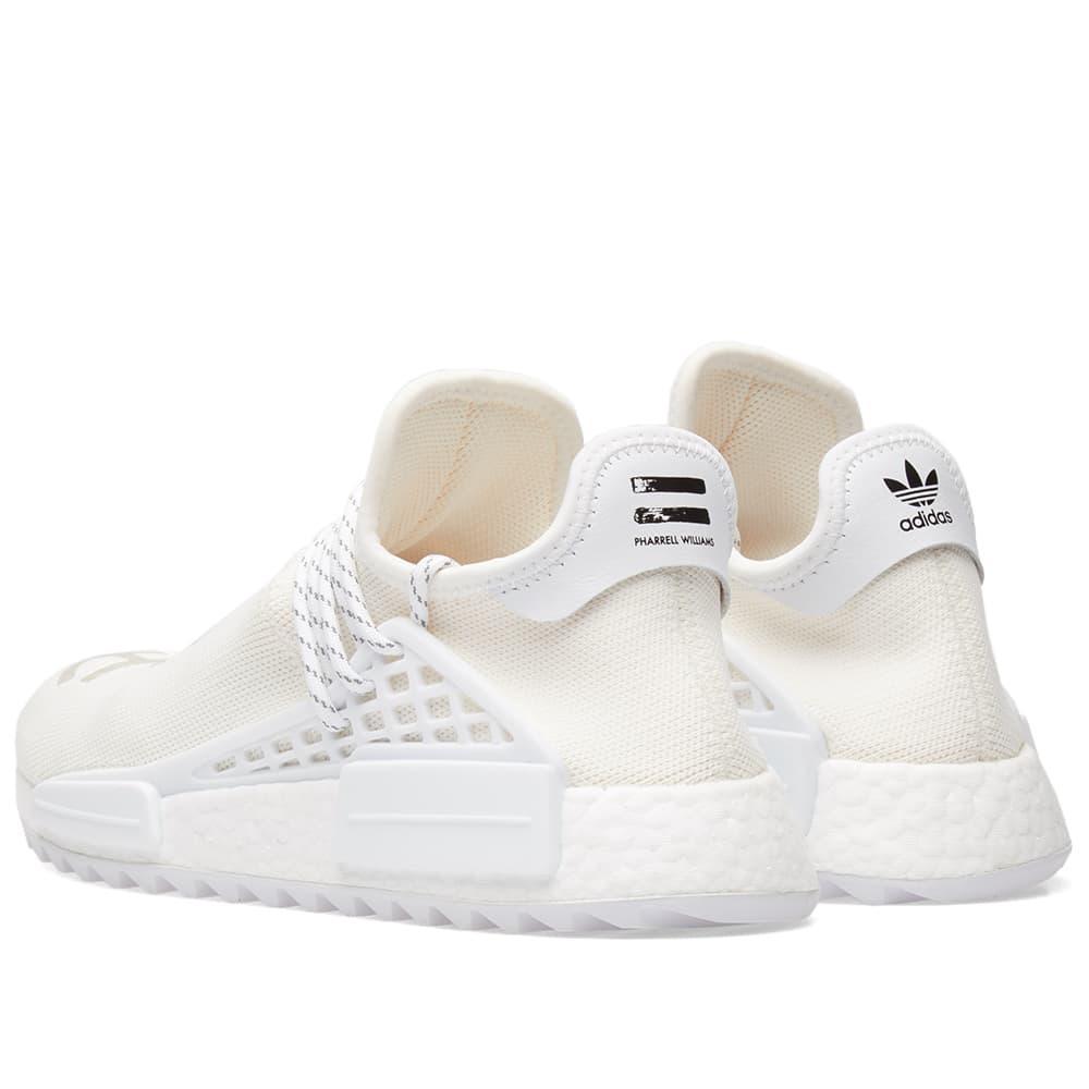 500bac54668c1 Lyst - adidas X Pharrell Williams Hu Nmd  blank Canvas  in White for Men