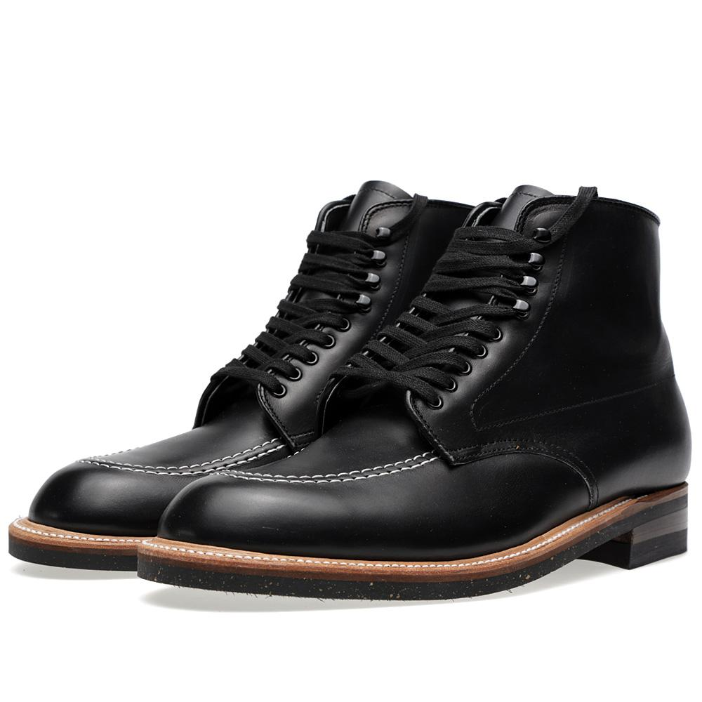 Lyst Alden Alden Indy Boot In Black For Men