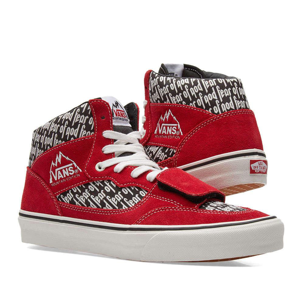 4a3b7b3c10 Lyst - Vans Mountain Edition 35 Dx Sneakers in Red for Men