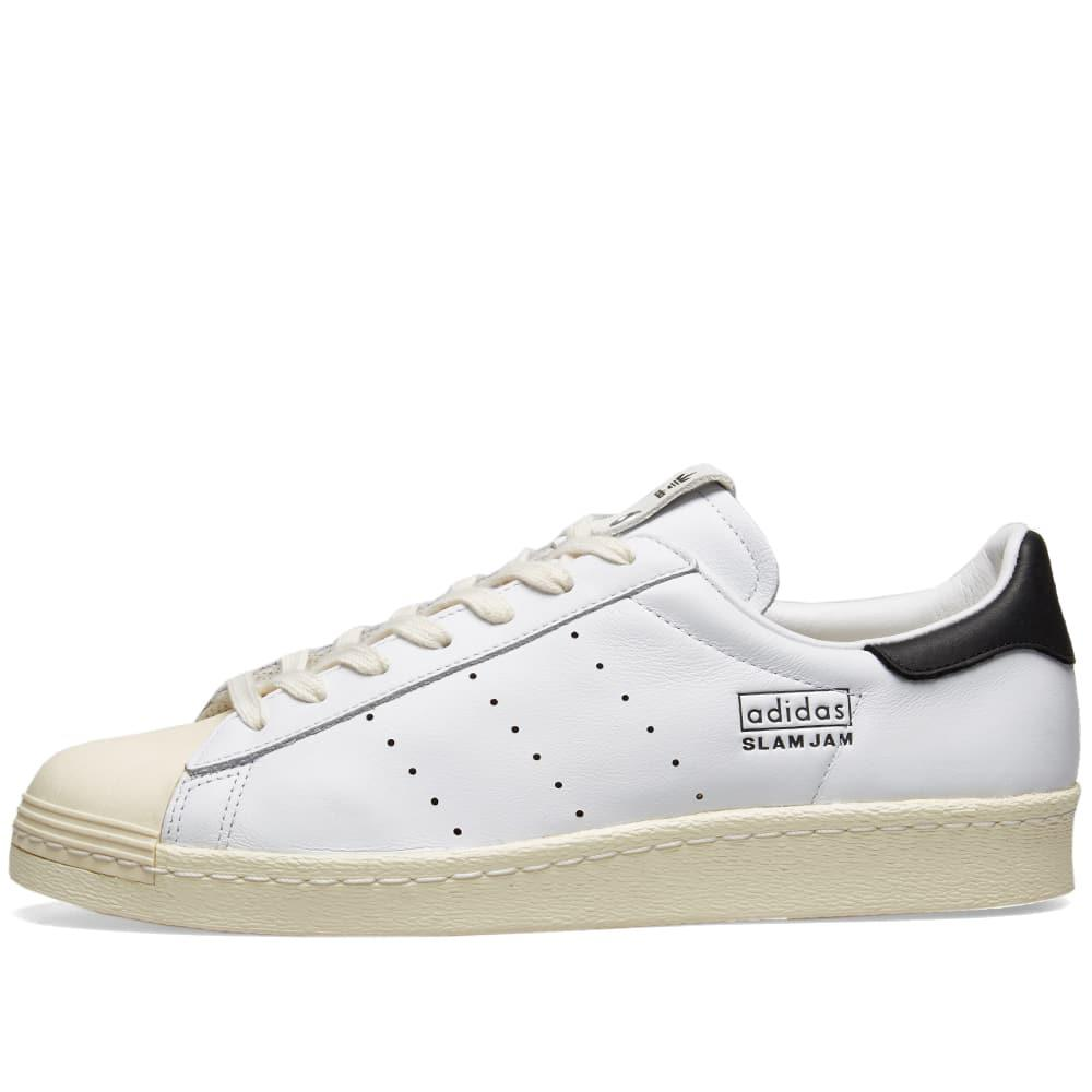 9501bc76ef9 Adidas Originals - White X Slam Jam Superstar 80s for Men - Lyst. View  fullscreen