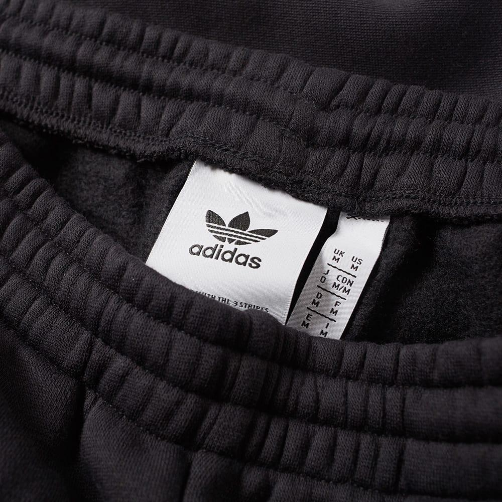 adidas Cotton Authentic Sweat Track Pant in Black for Men