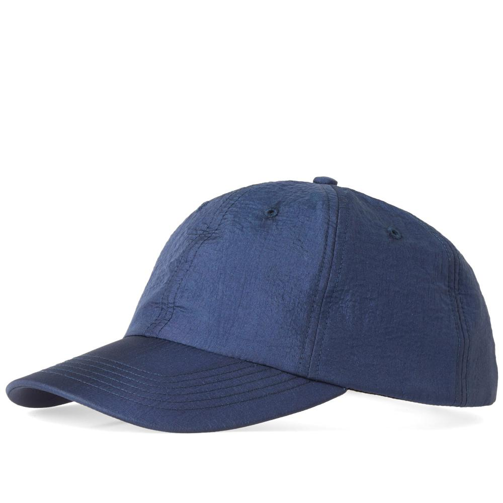 norse projects nylon sports cap in blue for men   save 35