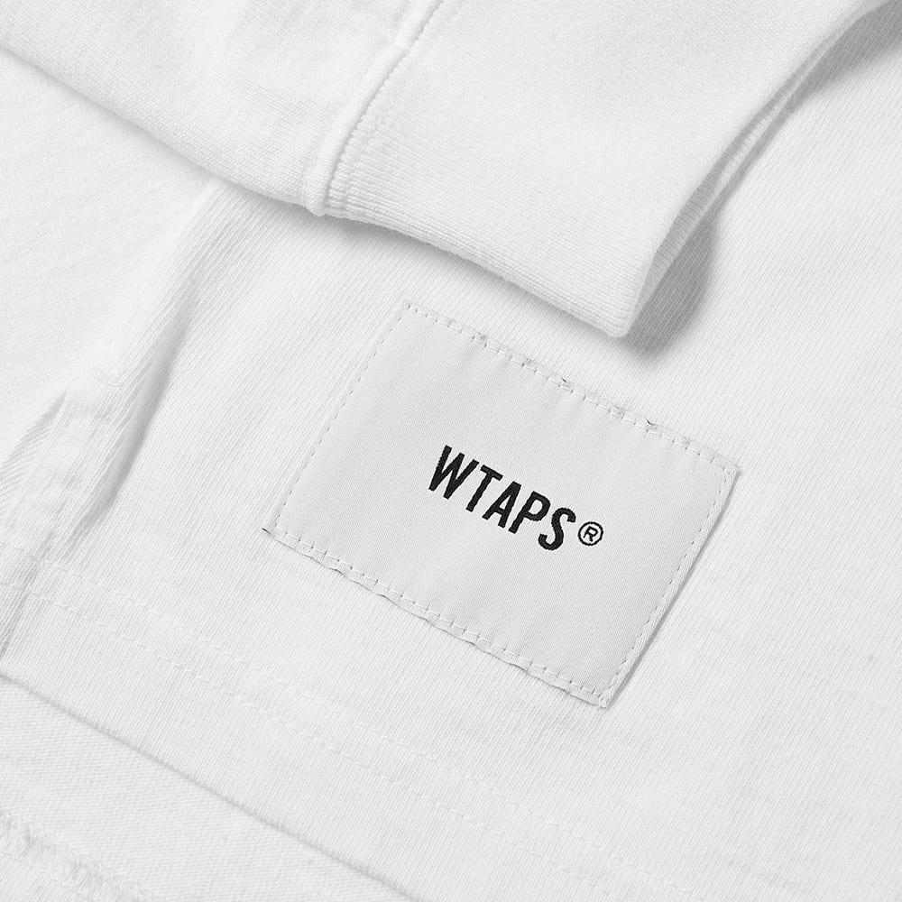WTAPS Cotton Long Sleeve Design Spec Tee in White for Men