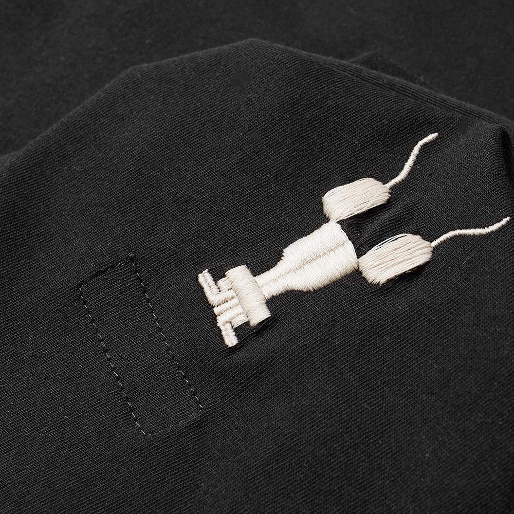 Lyst - Rick Owens Drkshdw Small Logo Level Tee in Black ...