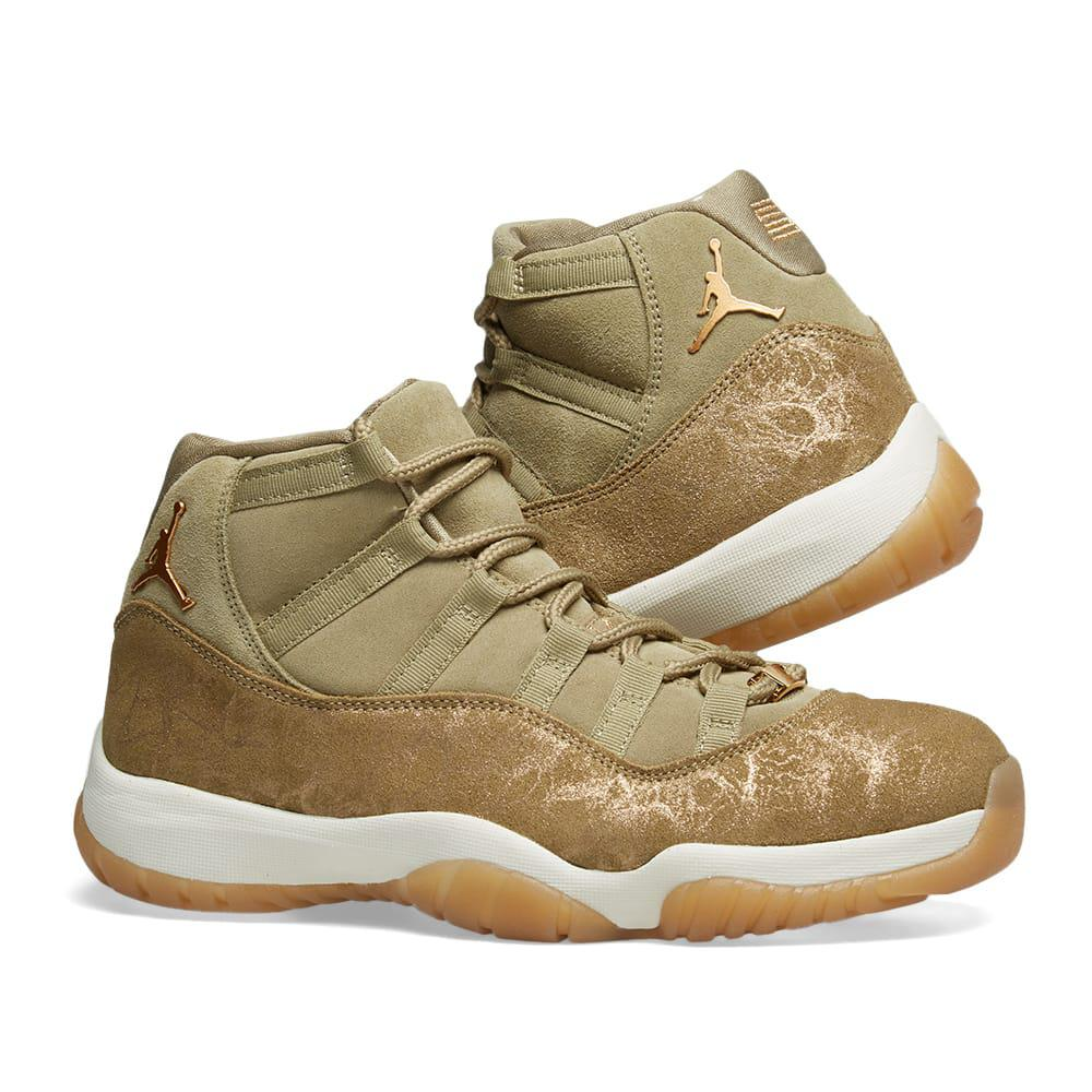 2ab3196bdb36 Nike - Green Air Jordan 11 W - Lyst. View fullscreen