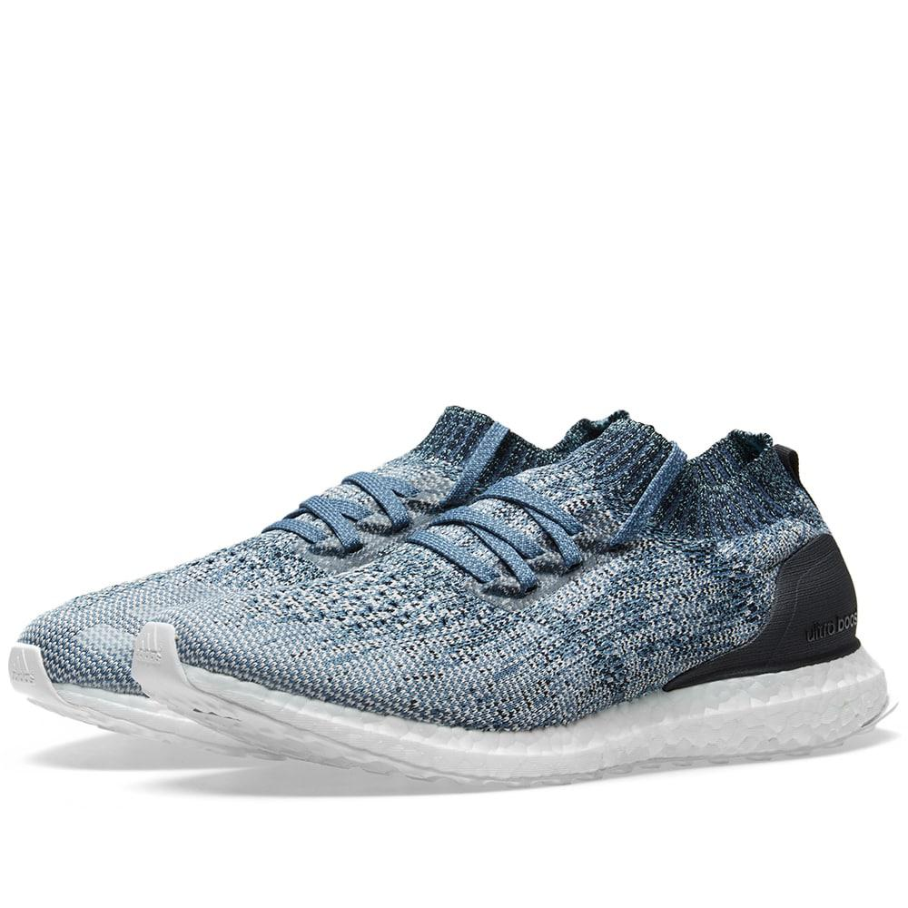 dbe6ab24ac742 adidas Ultra Boost Uncaged Parley in Blue for Men - Save 31% - Lyst
