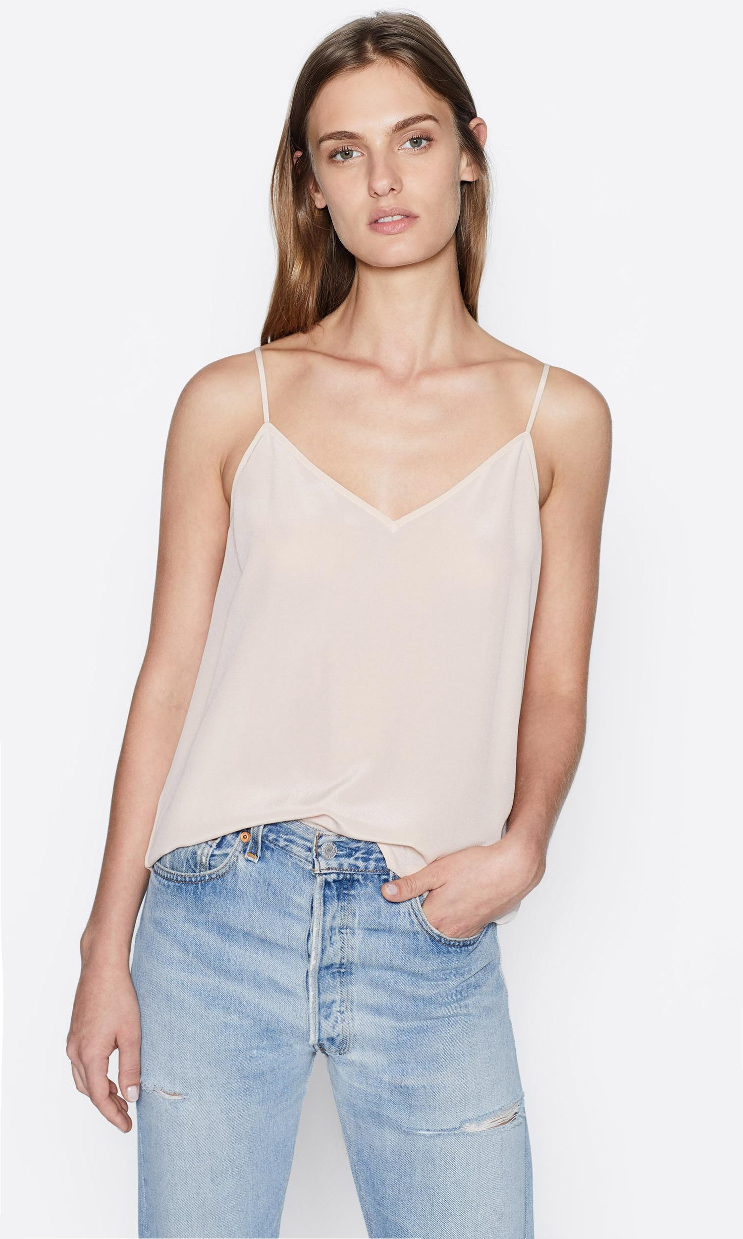 Equipment Layla Cami In Natural Lyst