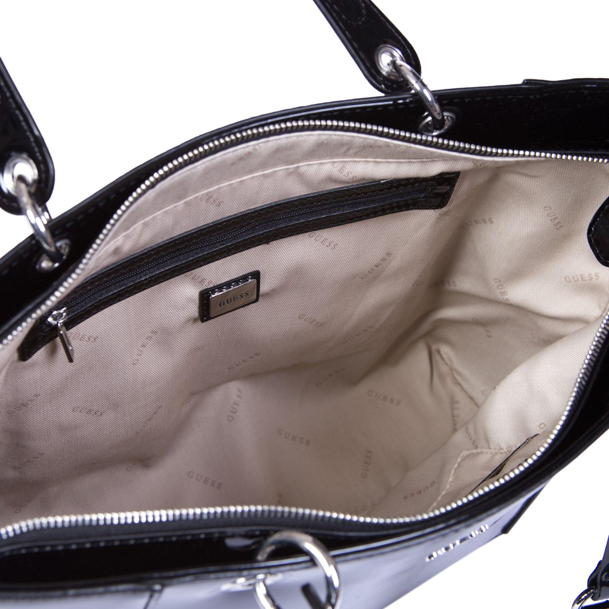Guess Black Patent Leather Purse Best Image Ccdbb