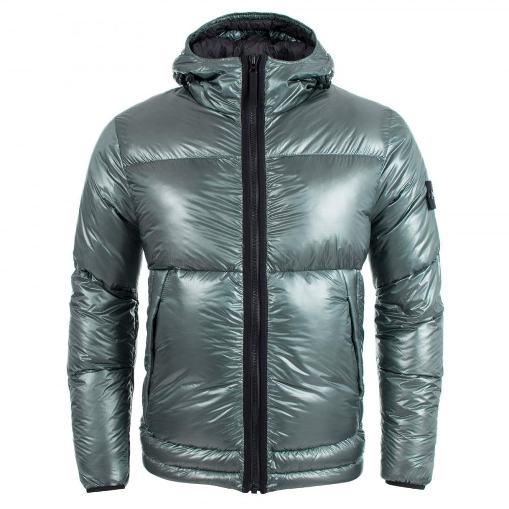 Stone Island Synthetic Pertex Quantum Y Down Jacket in ...