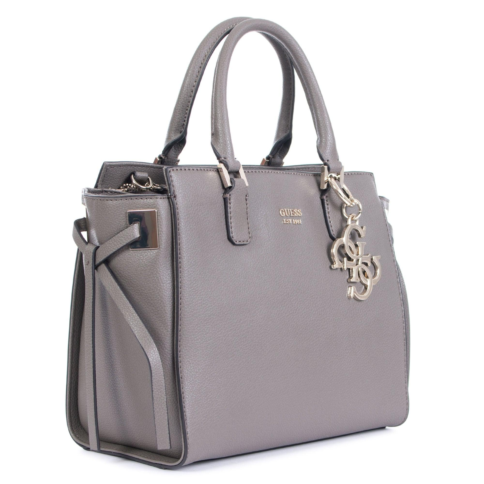 Guess Synthetic Digital 4g Logo Charm Tote in Grey (Grey)