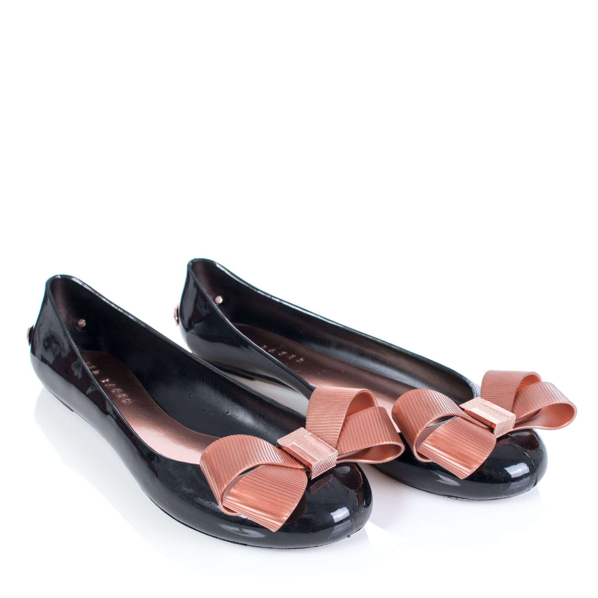 Ted Baker Bow Detail Jelly Pumps in