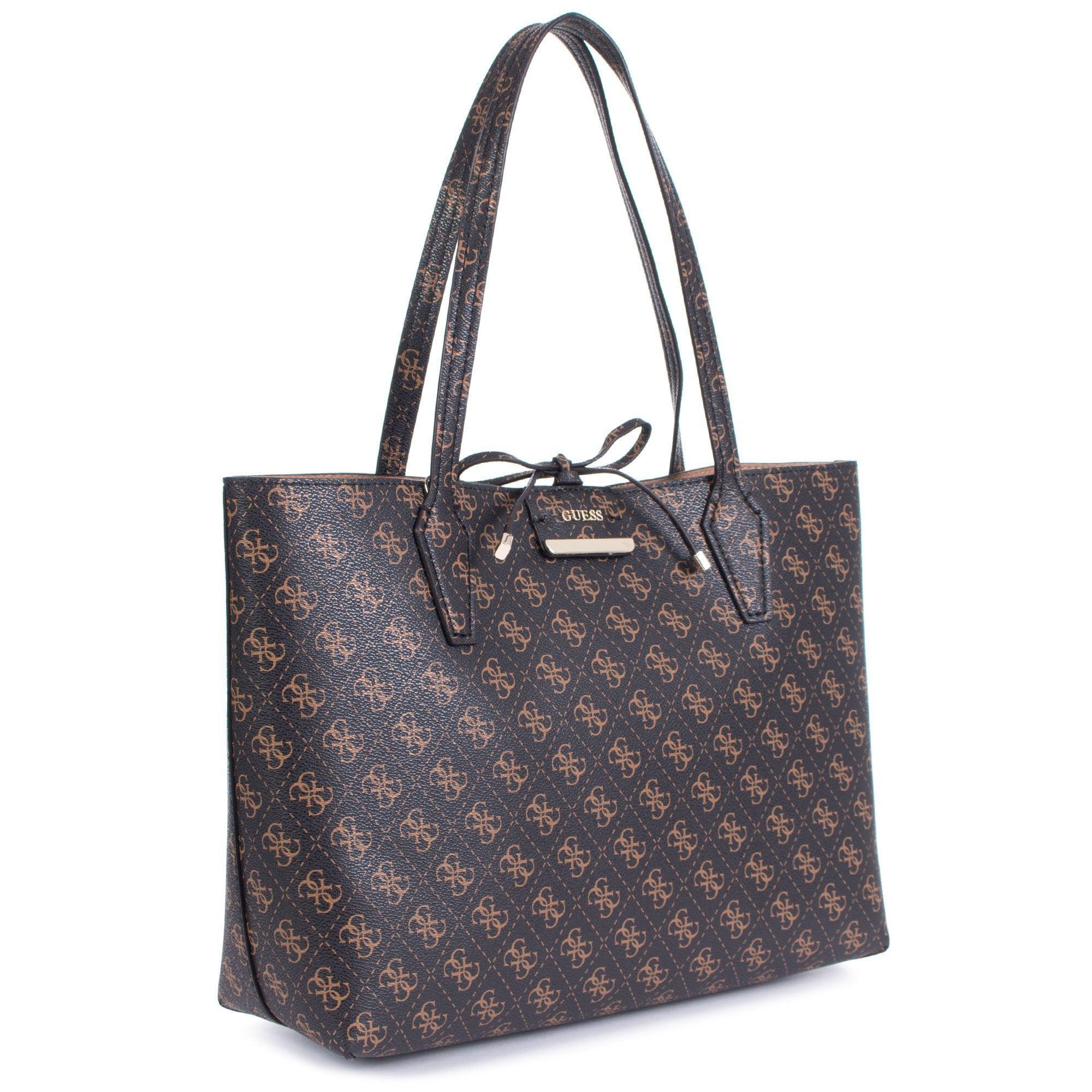 Guess Bobbi Reversible Logo Shopper in Brown - Lyst 6d7ba3aa2758d