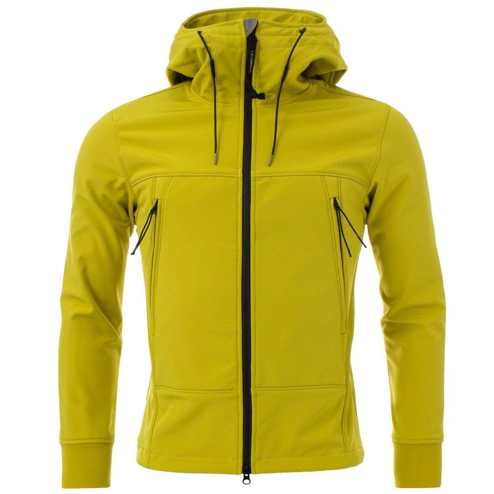 C P Company Fleece Soft Shell Goggle Jacket for Men