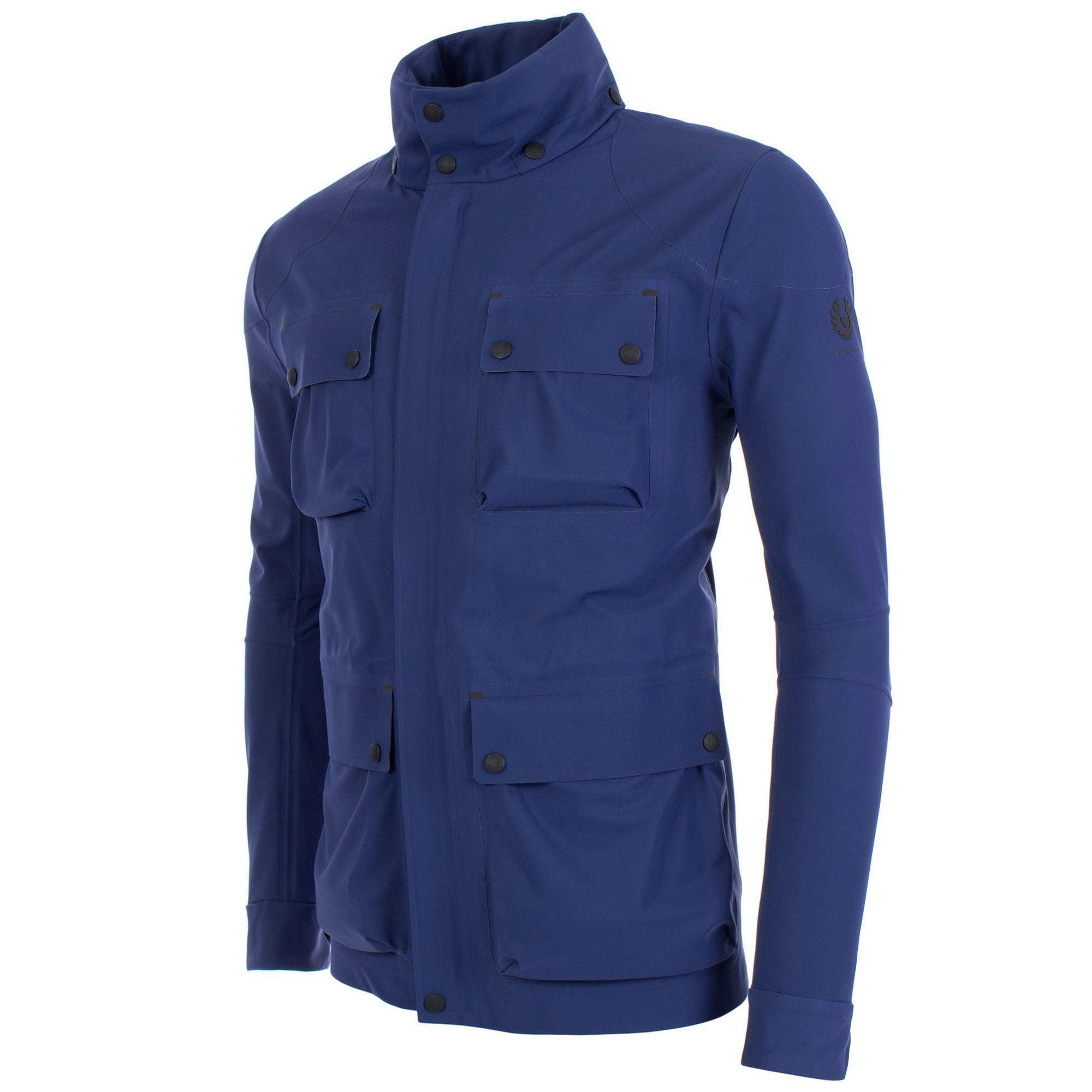 9b1541cb3a5 Belstaff Trialmaster Evo Jacket in Blue for Men - Lyst
