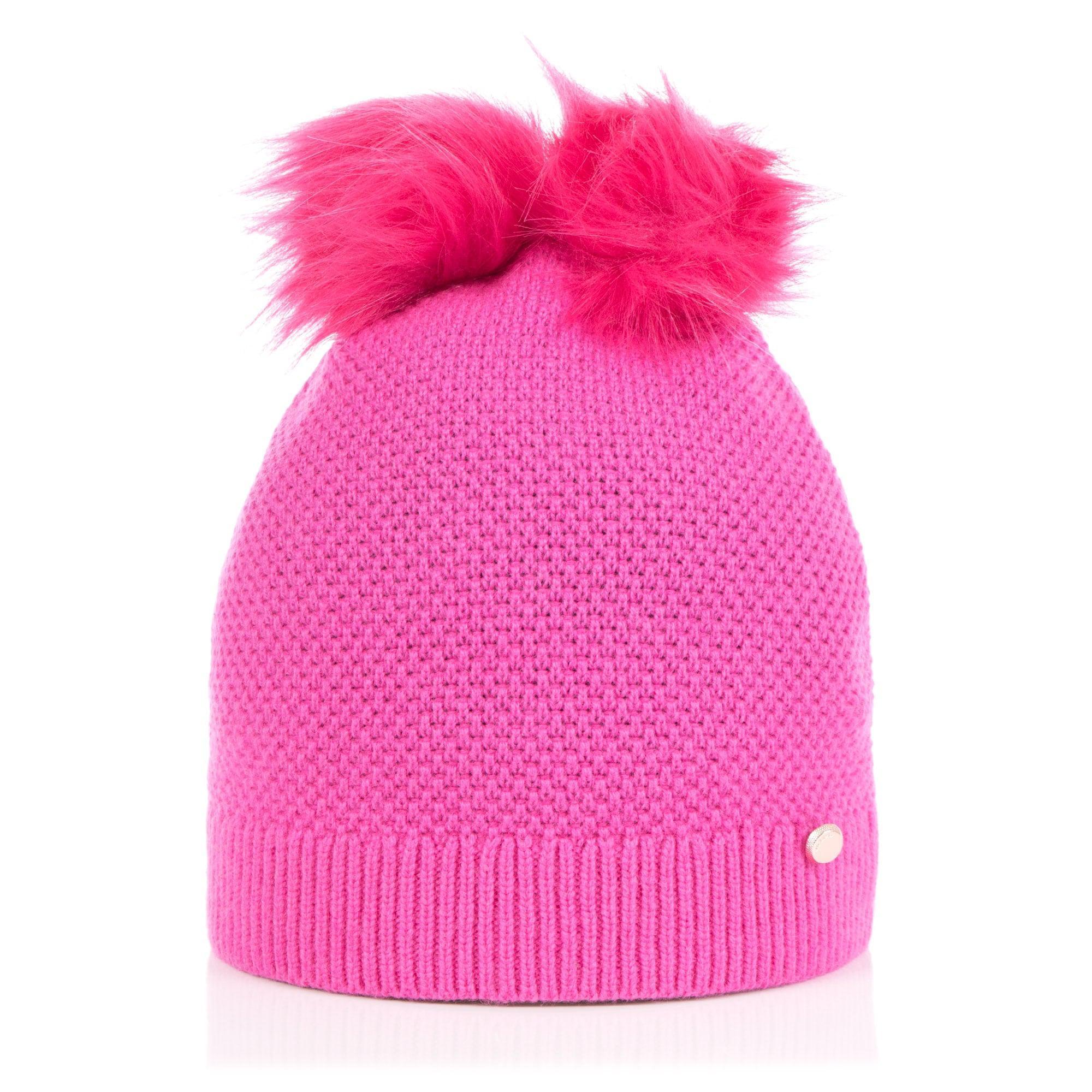 177bfb5466f Ted Baker Inita Pom Pom Hat in Pink - Lyst