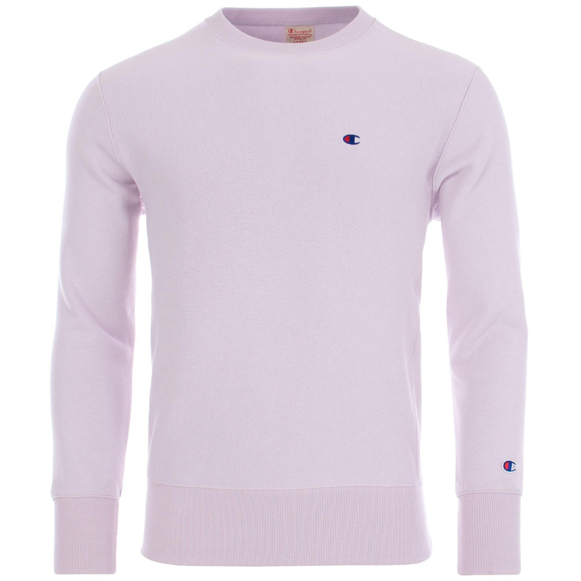 b0ecab908a71 Champion Reverse Weave Small Logo Sweatshirt in Purple for Men ...