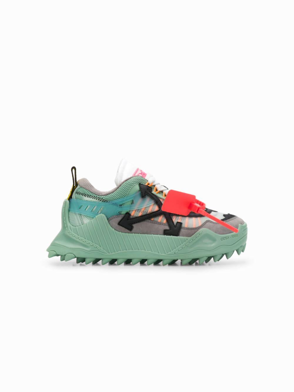 o Virgil Abloh Suede Odsy-1000 Sneakers