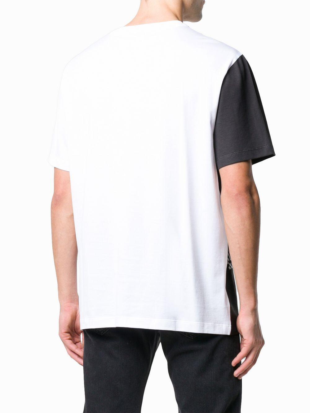 1d8341d8d Versace - White Two Tone Medusa T-shirt for Men - Lyst. View fullscreen