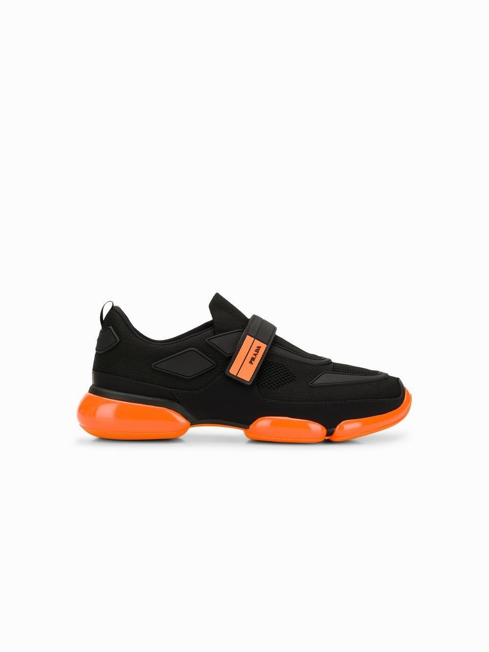 Orange Cloudbust Sole Detail Sneakers